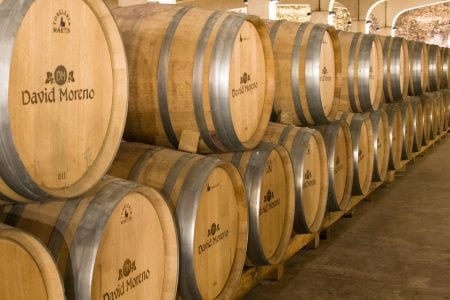 Spain rioja wine cave