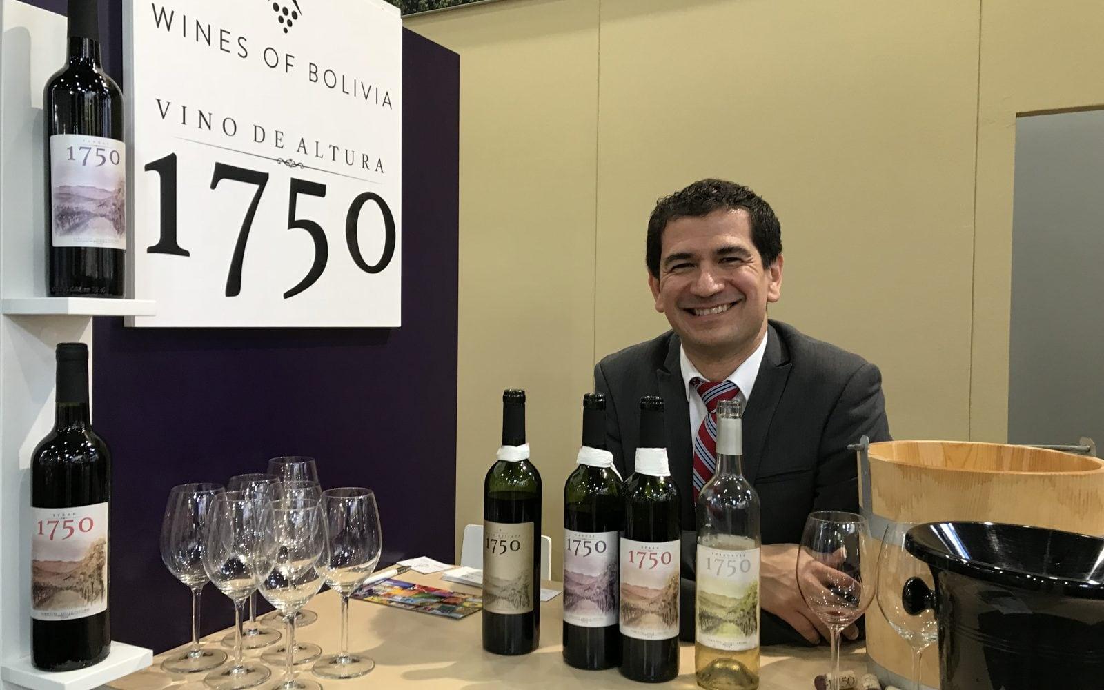 Fransisco Roig , vigneron bolivie