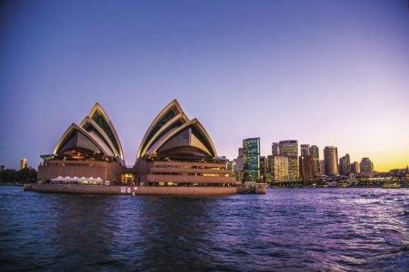australia-sydney-opera-sunset