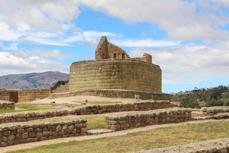 Ecuador Ingapirca ruins