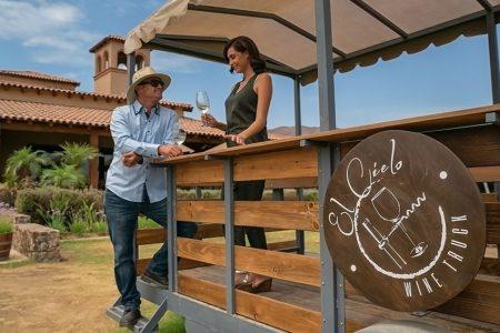 Mexico-baja california-wine truck El Cielo